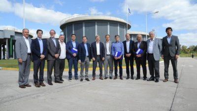 Echeverría / Comienza la ampliación de la planta de tratamiento cloacal en El Jagüel