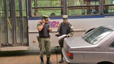 """Echeverría: """"Trajimos 150 gendarmes"""", destacó Fernando Gray"""