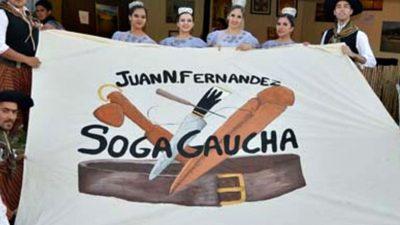 Comenzó la Fiesta de la Soga Gaucha en Juan N.Fernández