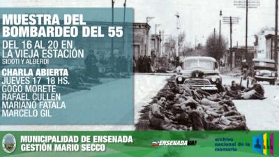 Ensenada/ Se realizará una muestra fotográfica sobre los bombardeos del 55