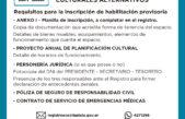 La Plata / Garro lanza un registro para habilitar los espacios culturales alternativos
