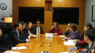 En Washington Vidal cerró un préstamo con el Banco Mundial para las obras del río Salado
