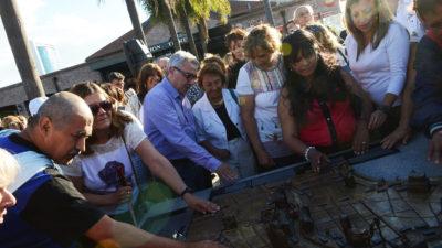 Tigre / Zamora presentó la primera maqueta urbana táctil de latinoamérica