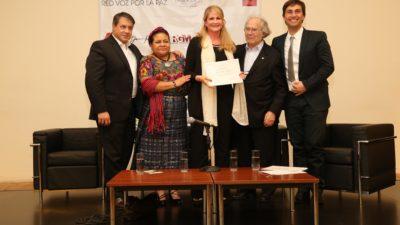 Con la presencia de premios nobeles y figuras internacionales se presentó en el CCK la Fundación #RedVozPorlaPaz