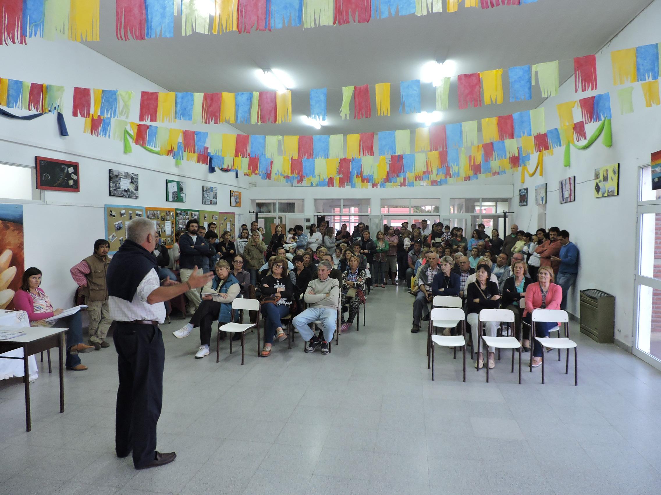 Tandil / Vecinos de Vela eligieron cuatro obras para el presupuesto participativo