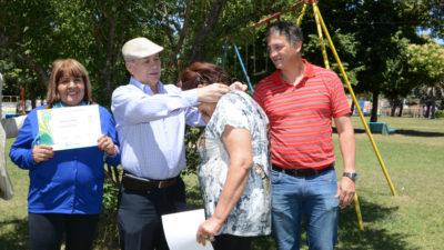 Ituzaingó / Descalzo distinguió a los adultos mayores que participaron de los juegos bonaerenses