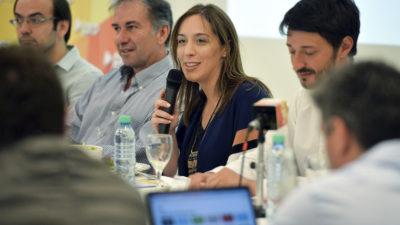 Vidal reunió a todos los presidentes de distritos del PRO