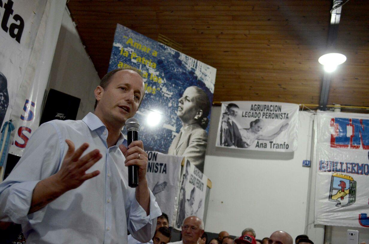 """Insaurralde a la yugular de Macri """"Este es el gobierno de la mentira y el ajuste"""""""