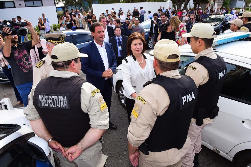 Escobar / Sujarchuk, Bullrich y Burzaco presentaron a las fuerzas federales