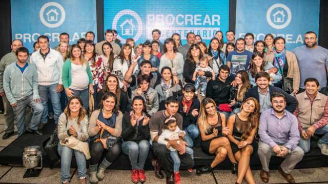 Lobería / 56 beneficiarios del PROCREAR están a un paso del sueño de la casa propia