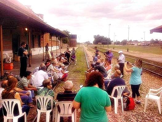 """La """"Asamblea de Pueblos por el Tren"""" lleva su reclamo al Ministerio de Transporte"""