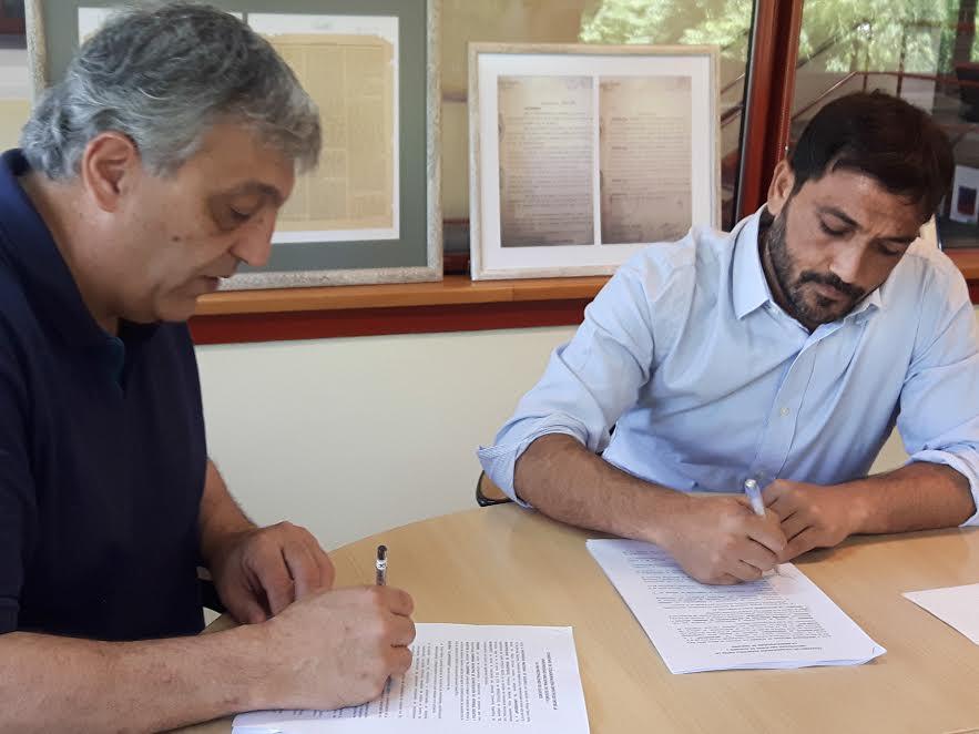 Berazategui firmó un convenio con la Universidad de Quilmes para llegar al 2020 sin analfabetos