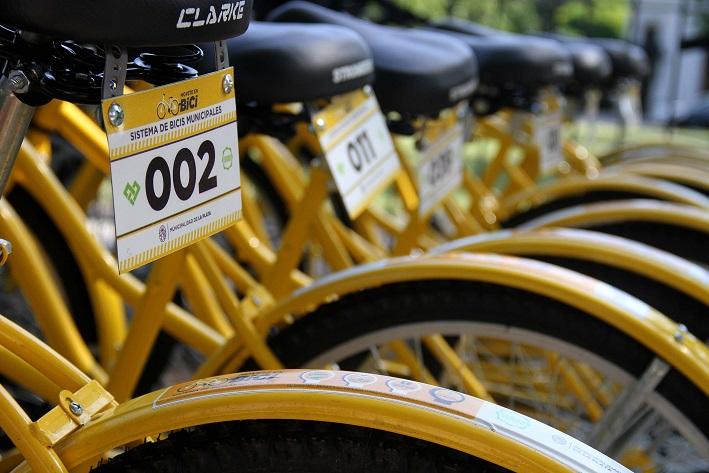 La Plata / Inauguran un servicio gratuito de bicicletas municipal