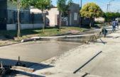 Daireaux / Acerbo inauguró la primera calle asfaltada de su gestión