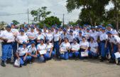 """Berisso / Nedela felicitó a los nuevos egresados de la Policía Local """"abrazan una vocación en la que ponen en riesgo su vida"""""""
