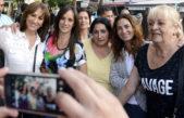 """Malena Galmarini en Villa Lugano: """"Se vienen las fiestas y hay muchas familias que no llegan a fin de mes"""""""