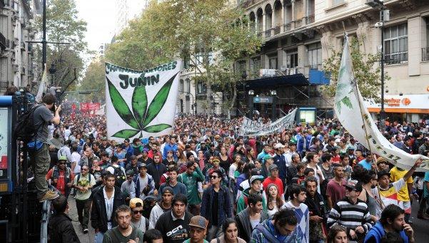 Se viene la séptima Marcha Nacional de la Marihuana
