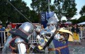 Se disputó un Torneo Internación de Combate Medieval en Villa Adelina