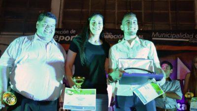 """Berisso entregó los premios """"Olmi Filgueira"""" a lo mejor del deporte local"""