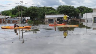 Pergamino / El intendente Javier Martínez detalló el estado de situación tras la inundación