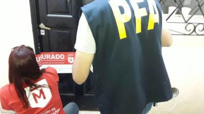 Morón\ Nuevo golpe a la trata: Se clausuraron dos prostíbulos