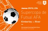 La Supercopa de Futsal AFA se jugará en Morón