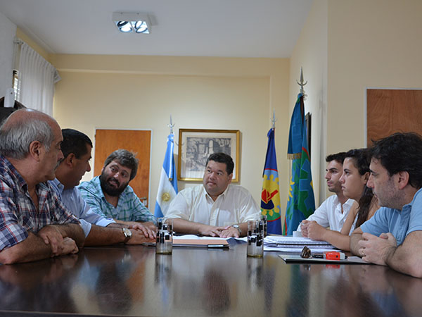 Berisso / Nedela junto a ATULP gestionan para la construcción de viviendas en terrenos de la UNLP