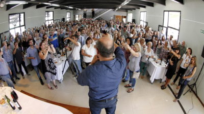"Ensenada / Secco: ""Hablé con Cristina y nos pidió que tengamos fortaleza"""