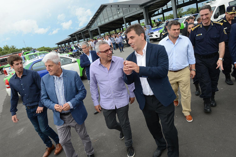 Tigre/ Zamora y Andreotti junto a Ritondo lanzaron el operativo sol para este verano