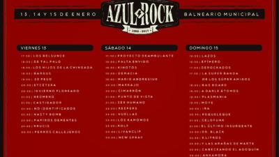 Comienza el #AzulRock2017