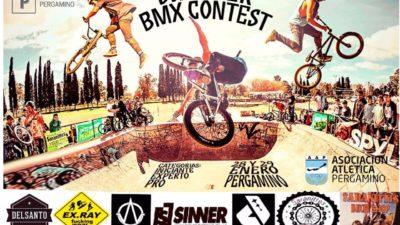 """El 27 y 28 de Enero llega el """"summer BMX contest"""" a Pergamino"""