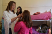 Vidal visitó una casa que brinda protección y asistencia a mujeres adolescentes con derechos vulnerados