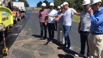 """Mosca recorrió la ruta 88 entre Necochea y Mar del Plata """"Las obras no son del oficialismo ni la oposición, son de los bonaerenses"""""""