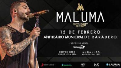 Maluma llega a la Argentina en Febrero