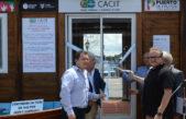 La Cámara Comercial e Industrial de Tigre inauguró una filial en el Puerto de Frutos