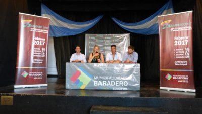 Se presentó el 43º festival de Música Popular en Baradero que tendrá en su escenario a Soledad, Abel y El Chaqueño