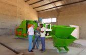Cnel Suárez / El Intendente supervisó los trabajos que se realizan en la planta de recuperación de residuos