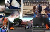 Represión a trabajadores de AGR-Clarín, policías intentan desalojar la planta