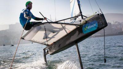 En Mar del Plata comenzó el Campeonato Argentino de Moth
