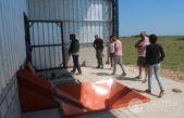 Castelli / Comenzó el montaje para la planta de separación de residuos