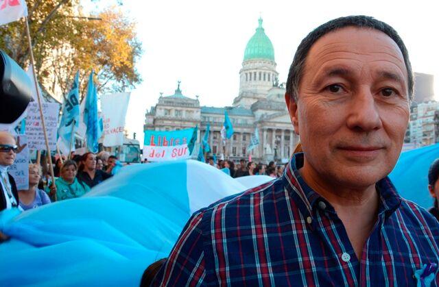 """""""El gobierno de Cambiemos está poblado de procesistas"""", dijo el """"Huevo"""" Ceballos"""