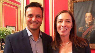 """Ivoskus con un guiño a Vidal """"por primera vez en la historia hay una gobernadora que incluyó un fondo de obras coparticipable"""""""