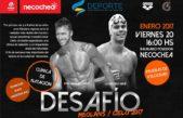 Necochea recibe un desafío de nadadores entre Meolans y el récord del mundo en los 50 metros