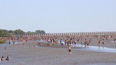 Explotó Punta Lara: Más de 100 mil personas pasaron por la costa de Ensenada