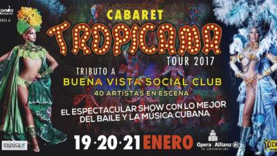TROPICANA el cabaret cubano más famoso del mundo, llega por primera vez a la Argentina