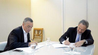 IOMA y Justicia firman convenio para fortalecer la atención directa a afiliados