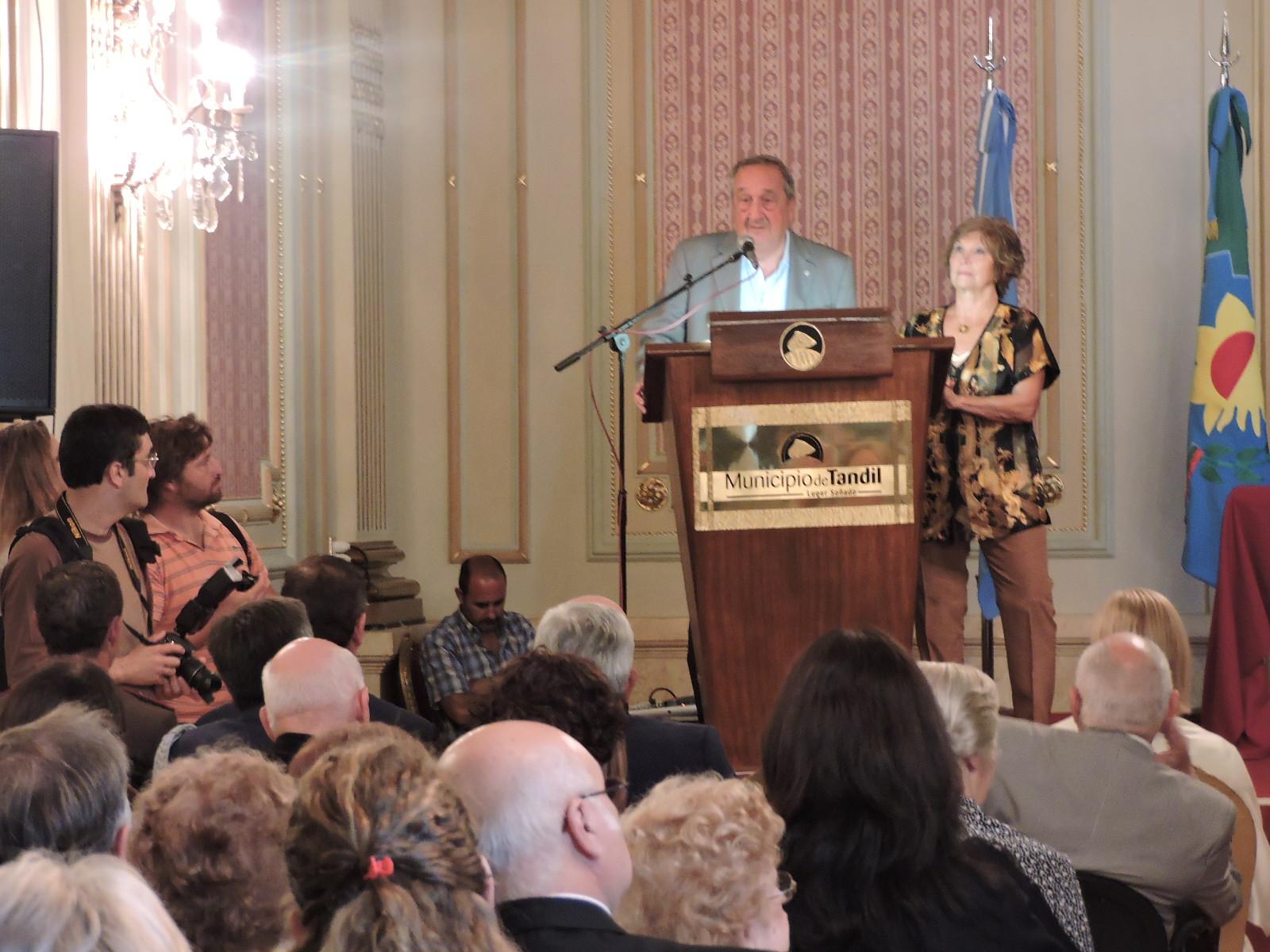Tandil / Cecilia Tangorra asumió como la vice consul de Italia en dicha ciudad