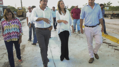 """Vidal visitó el municipio de un Ultra K """"la mejor manera de generar confianza es trabajando junto"""""""