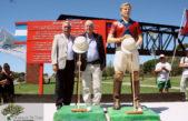 Coronel Suárez homenajeó al mejor jugador de polo de todos los tiempos: Juan Carlitos Harriott