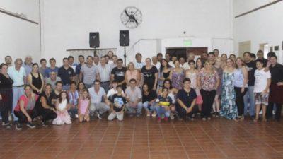 Castelli / Sebastián Echarren agradecido con la solidaridad de los vecinos